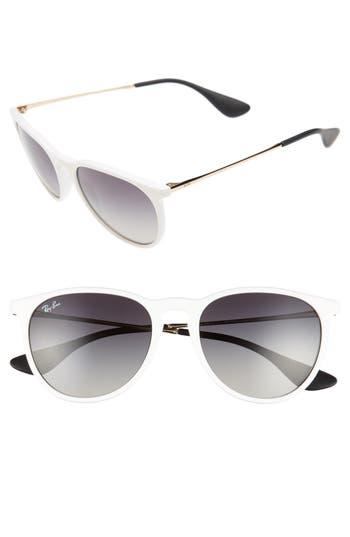 Ray-Ban Erika Classic 5m Sunglasses - White/ Red