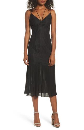 Cooper St Papara Lace Midi Dress, Black