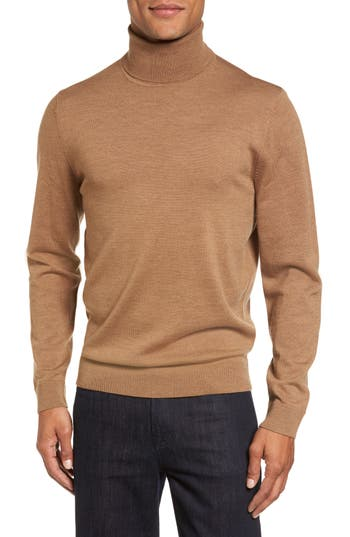 Nordstrom Men's Shop Merino Wool Turtleneck Sweater