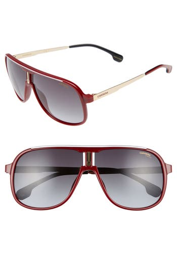 Carrera Eyewear 62Mm Sunglasses - Red/ Dark Grey