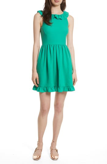 Kate Spade New York Ruffle Back Minidress