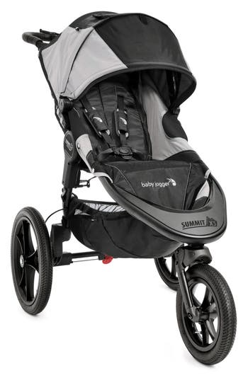Infant Baby Jogger Summit X3 Single Jogging Stroller  Weather Shield