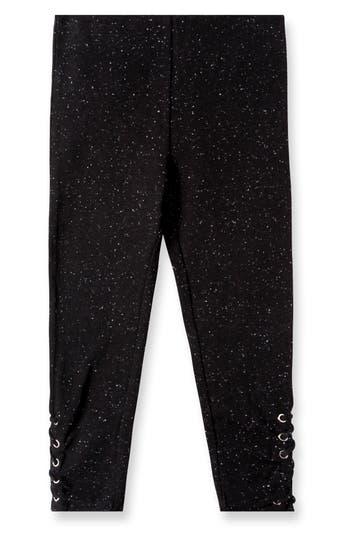 Girls Art  Eden Aria LaceUp Leggings Size 6  Black