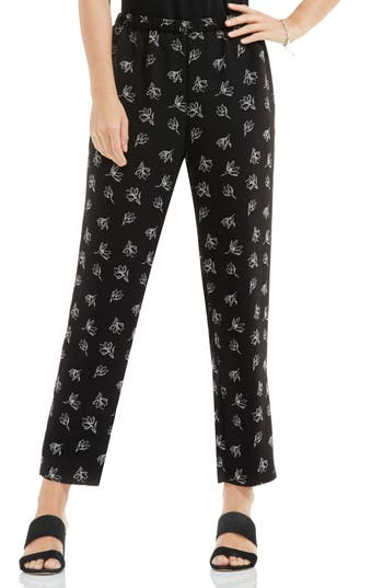 Women's Vince Camuto Fluent Flowers Slim Leg Pull-On Pants