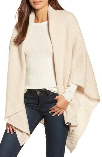 Women's Halogen Cashmere Wrap, Size One Size - Beige