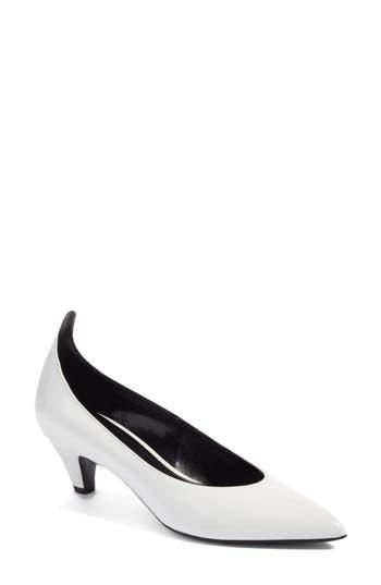 Calvin Klein 205W39Nyc Kait Pointy Toe Pump White