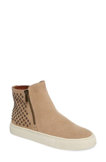 Lucky Brand Bayleah High Top Sneaker, Beige