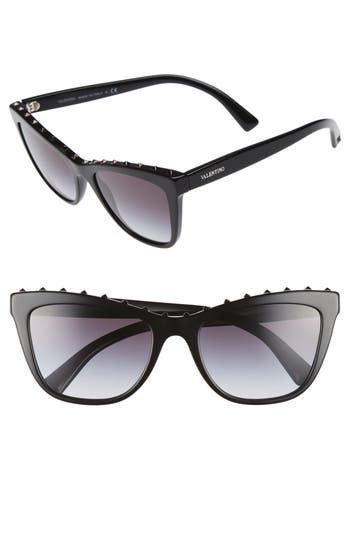 Valentino Rockstud 5m Cat Eye Sunglasses -