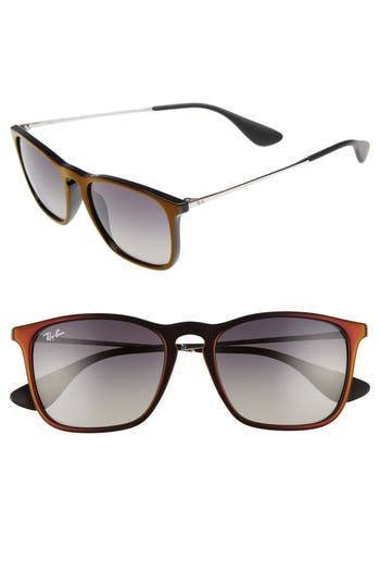 Ray-Ban Youngster 5m Square Keyhole Sunglasses - Red Gradient