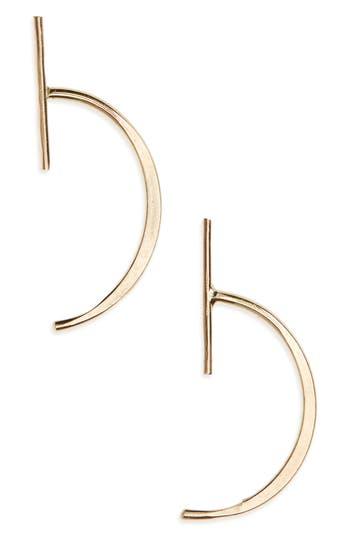 Women's Melissa Joy Manning Bar Threader Stud Earrings