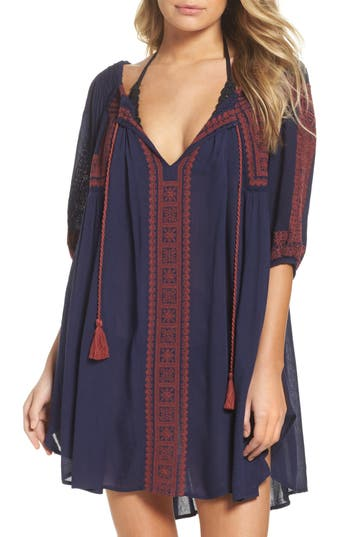Women's Muche Et Muchette Cover-Up Tunic, Size One Size - Blue