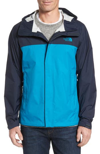 Men's The North Face Venture Ii Raincoat, Size Small - Blue