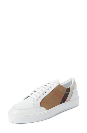 Burberry Salmond Sneaker - White