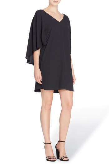 Catherine Catherine Malandrino Violet Shift Dress, Black