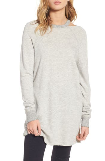 N:philanthropy Porter Distressed Sweatshirt Dress