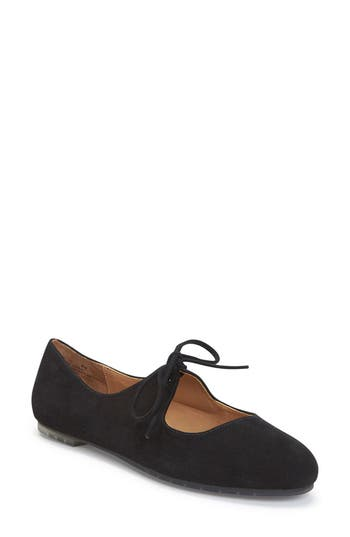 Me Too Cacey Mary Jane Flat- Black