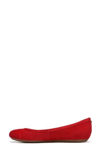 Naturalizer Brittany Ballet Flat N - Red