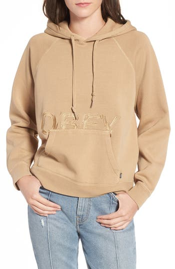 Women's Obey Parkside Hooded Pullover