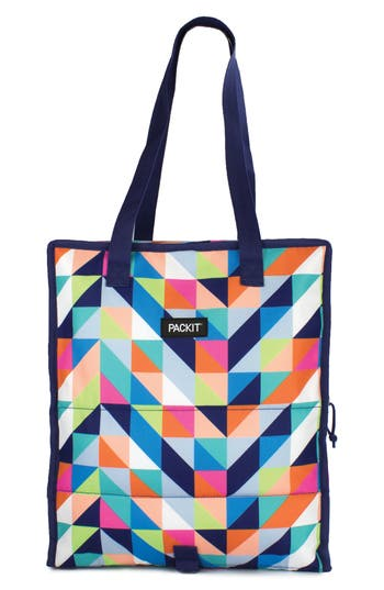 Packit Freezable Grocery Bag, Size One Size - Blue