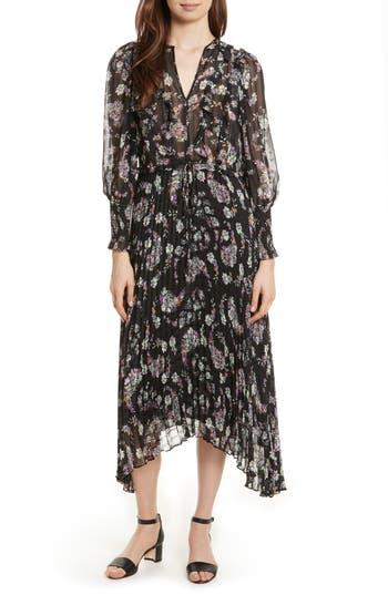 Rebecca Taylor Jewel Paisley Dress, Black