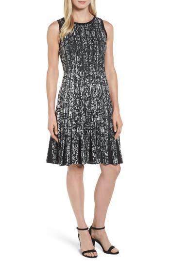 Nic+Zoe Boulevard Twirl Dress, Black