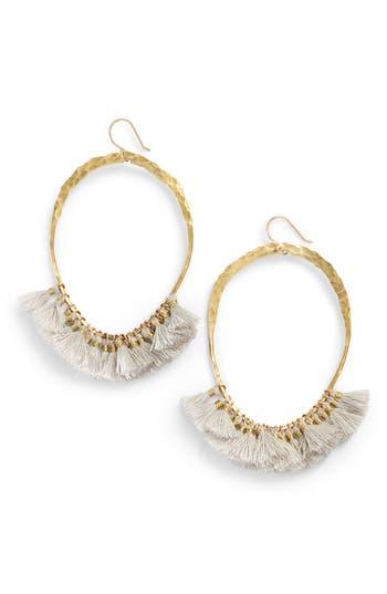 Serefina Tassel Hoop Earrings