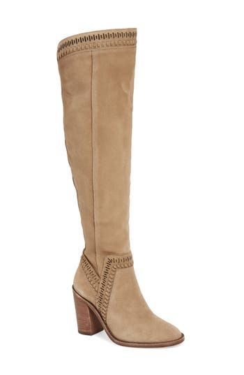 Vince Camuto Madolee Over The Knee Boot, Beige