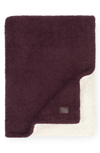 Ugg Ana Faux Shearling Throw, Size One Size - Red