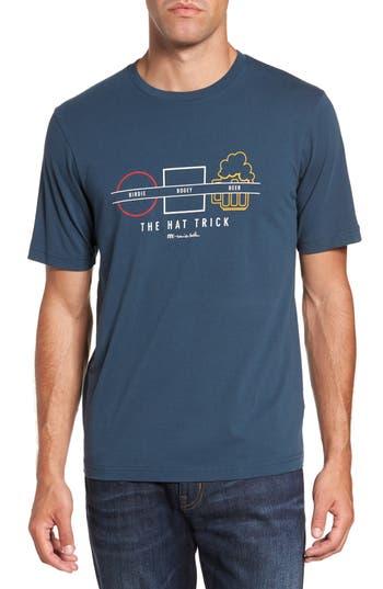 Travis Mathew Pbfu Graphic T-Shirt, Blue