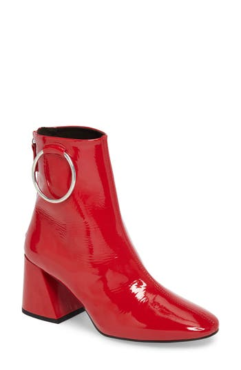Topshop Mia Ring Bootie - Red