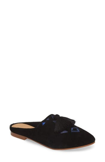 Soludos Palazzo Loafer Mule, Black