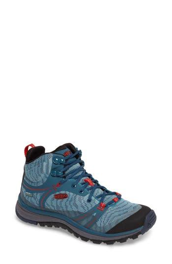 Keen Terradora Waterproof Hiking Boot, Blue