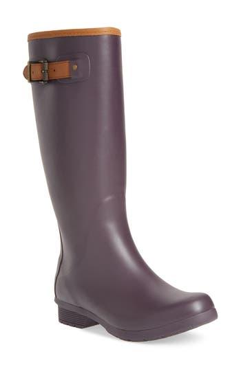 Chooka City Tall Rain Boot, Purple