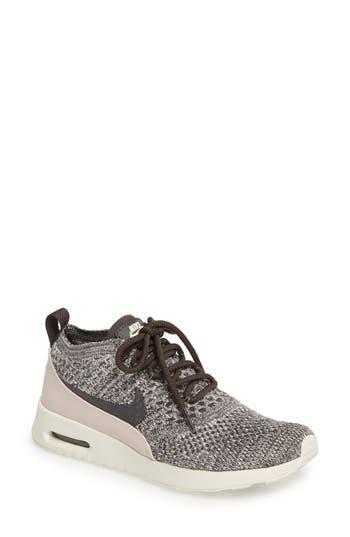 Nike Air Max Thea Ultra Flyknit Sneaker, Grey