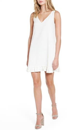 Women's Cooper & Ella Agnes Shift Dress, Size Medium - Ivory