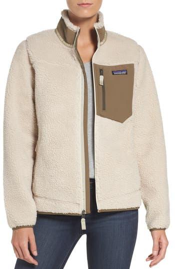 Patagonia Classic Retro-X Fleece Jacket, Ivory