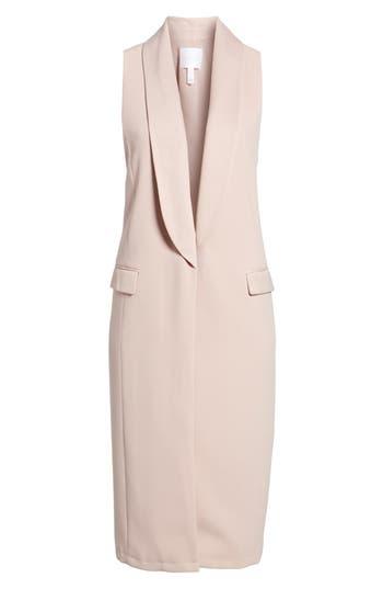 Leith Tuxedo Vest, Pink