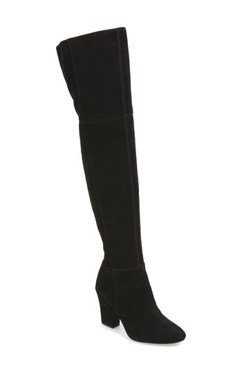 Louise Et Cie Vernon Over The Knee Boot- Black