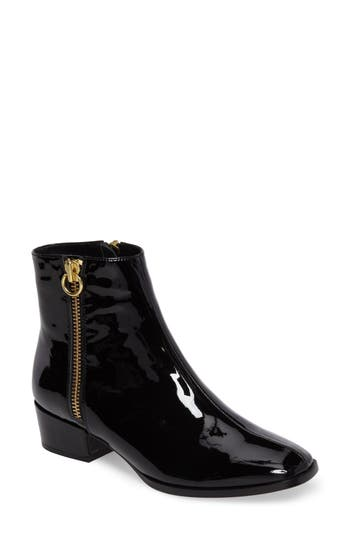 Joie Rubee Double Zip Bootie, Black