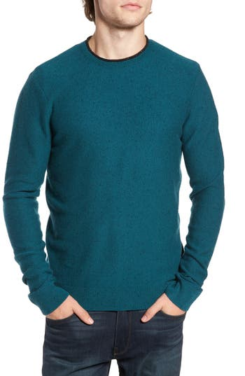 1901 Nep Wool & Cashmere Sweater, Blue/green