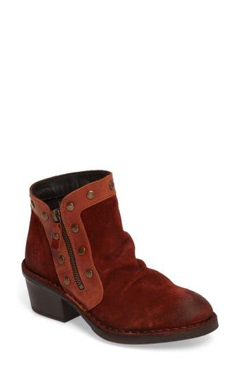 Fly London Duke Boot - Red