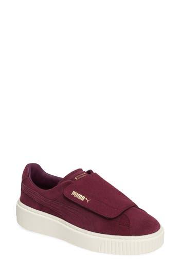 Puma Basket Platform Sneaker, Purple