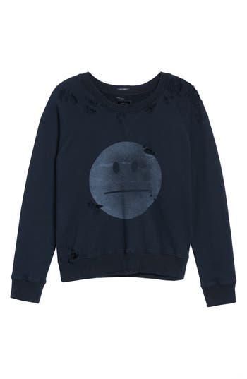 Women's Mother 'The Square' Destroyed Graphic Pullover Sweatshirt