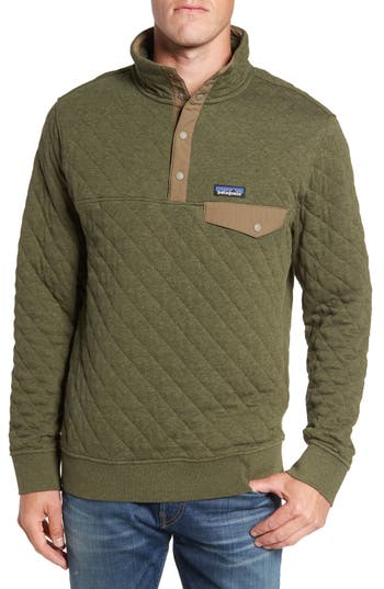 Men's Patagonia Snap-T Quilted Fleece Pullover