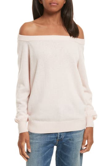 Rebecca Minkoff Shelby Merino Blend Sweater, Pink
