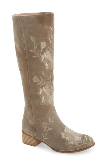 Seychelles Callback Embroidered Boot- Brown