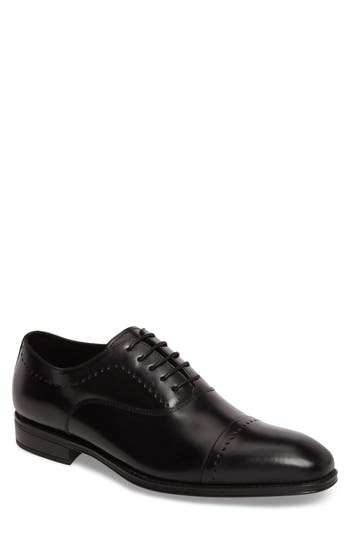 Kenneth Cole New York Cap Toe Oxford, Black