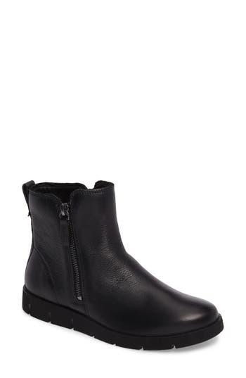 Women's Ecco 'Bella' Zip Bootie, Size 7-7.5US / 38EU - Black