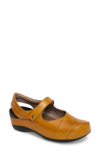Wolky Slingback Clog, Yellow