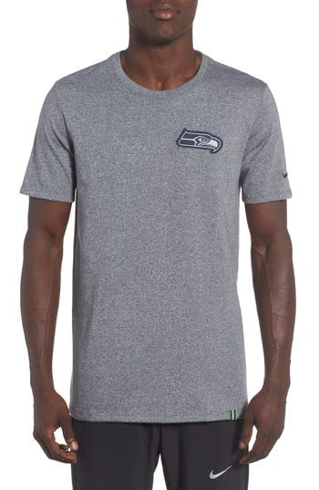 Nike Nfl Patch T-Shirt, Grey
